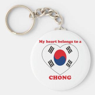 Chong Llavero Redondo Tipo Pin