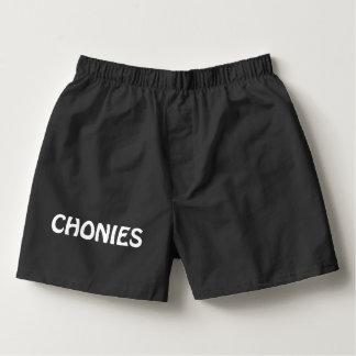 Chonies Men's Boxer Underwear Shorts