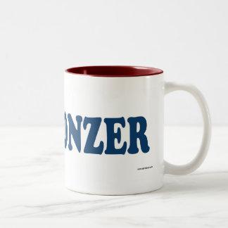 Chonzer Blue Two-Tone Coffee Mug