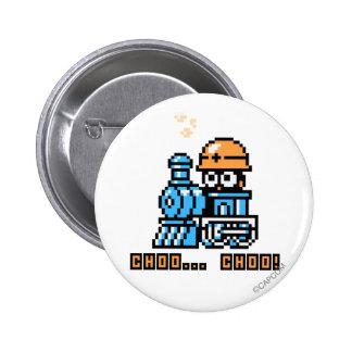 Choo Choo! Pinback Button