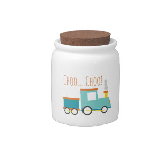Choo Choo! Candy Jars