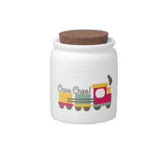 Choo Choo Candy Jar
