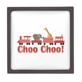 Choo Choo Circus Premium Trinket Boxes