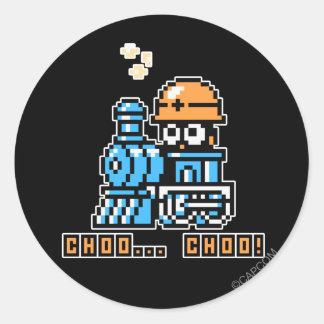 Choo  Choo! Classic Round Sticker
