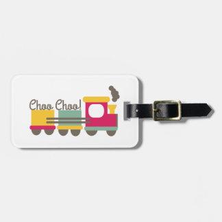 Choo Choo Etiquetas Maleta