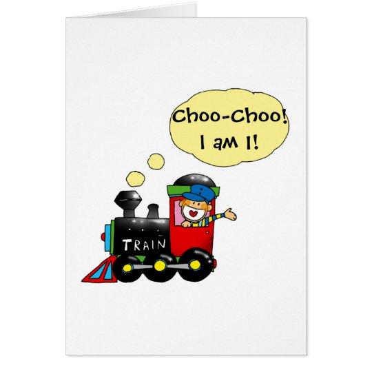 Choo-Choo! I am 1! Card
