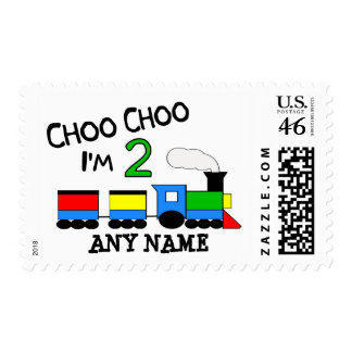 Choo Choo I m 2 With TRAIN Stamp