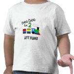Choo Choo I'm 2!  With TRAIN Tee Shirt