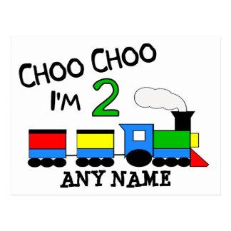 ¡Choo Choo soy 2!  Con el TREN Postales