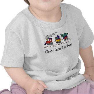 Choo Choo soy camiseta de 2 trenes