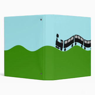 Choo choo train 3 ring binder