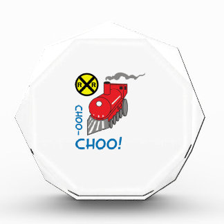 CHOO CHOO TRAIN ACRYLIC AWARD