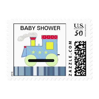 Choo Choo Train Baby Shower Postage