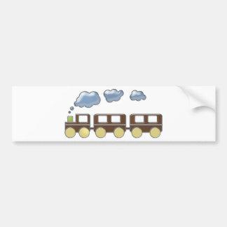 Choo Choo Train Bumper Sticker
