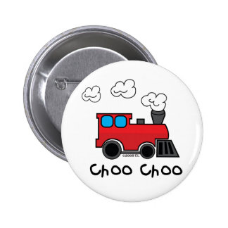 Choo Choo Train Pinback Button