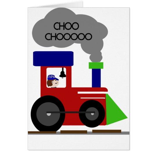 Choo Choo Train Card