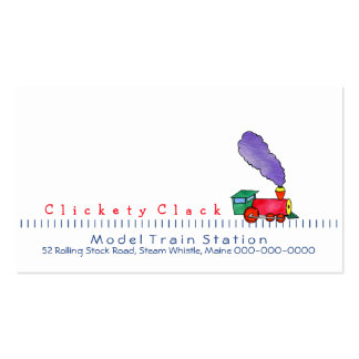 Choo Choo Train customizable Business Cards