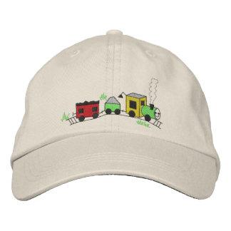 Choo Choo Train Embroidered Baseball Hat