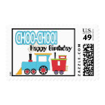 Choo Choo Train Happy Birthday Postage
