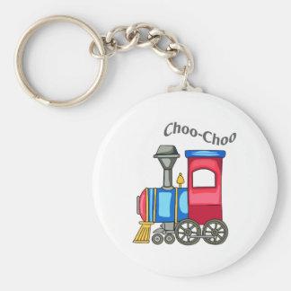 CHOO CHOO TRAIN KEYCHAINS