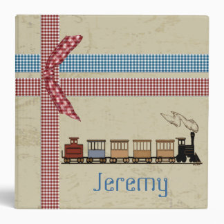 Choo Choo Train Kid's Album Binder