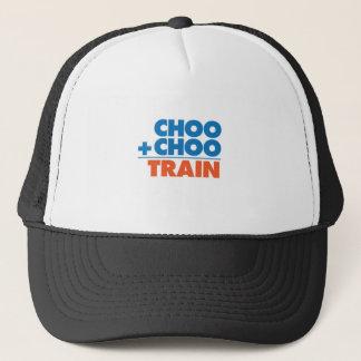 Choo Choo Train Math Trucker Hat