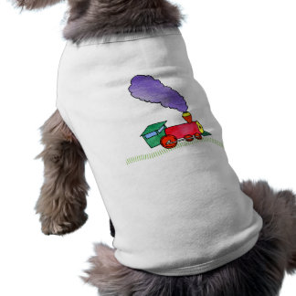 Choo Choo Train Pet Clothing