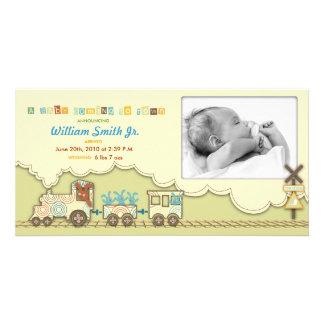 Choo Choo Train Photo Card
