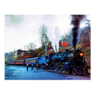 Choo Choo Train Postcard
