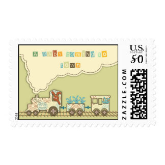 Choo Choo Train Stamp