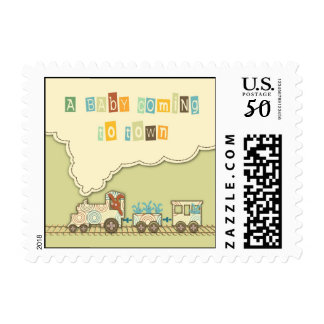 Choo Choo Train Stamp B