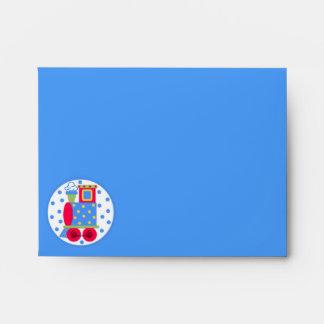 Choo Choo Train Thank You Card Envelope