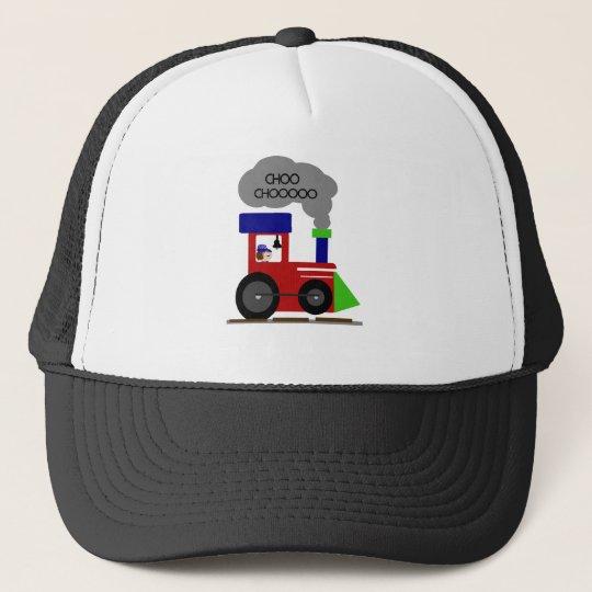 Choo Choo Train Trucker Hat