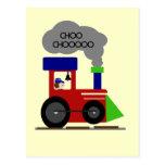 Choo Choo Train tshirts and Gifts Post Cards