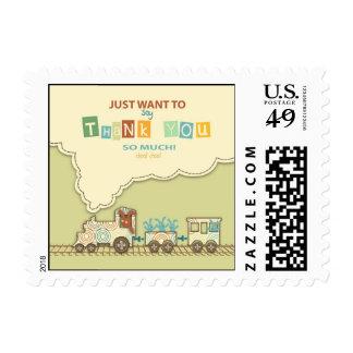 Choo Choo Train TY Stamp B