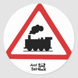 Choochoo Classic Round Sticker