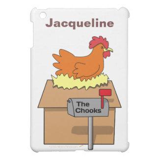 Chook House Funny Chicken on House Cartoon iPad Mini Covers