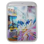 Chool School bus San Francisco streets graffiti iPad Sleeves