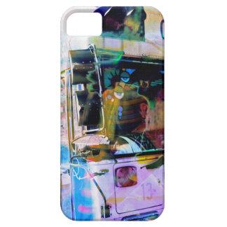 Chool School bus San Francisco streets graffiti iPhone SE/5/5s Case