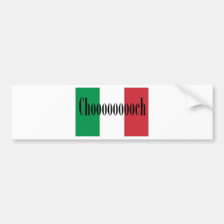 Chooooooch Products Available Here! Bumper Sticker