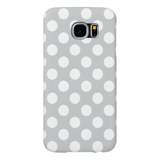 Choose A Custom Background Color w/ Polka Dots Samsung Galaxy S6 Case