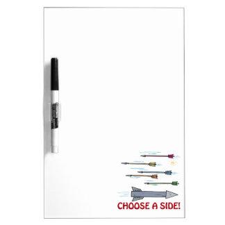 Choose A Side Dry-Erase Boards