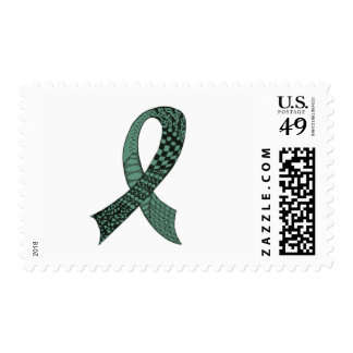 Choose Any Color Awareness Ribbon Postage