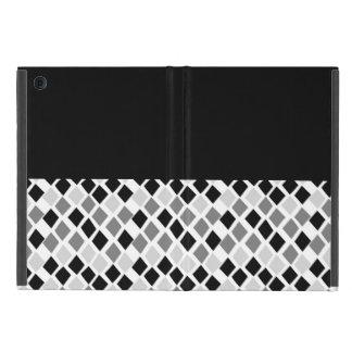 Choose Any Color Harlequin Diamonds Pattern iPad Mini Cover
