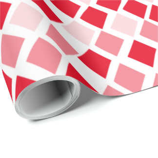 Choose Any Color Harlequin Diamonds Pattern Wrapping Paper