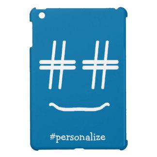 CHOOSE ANY COLOR # Hashtag Smiley Face Cute iPad Mini Covers