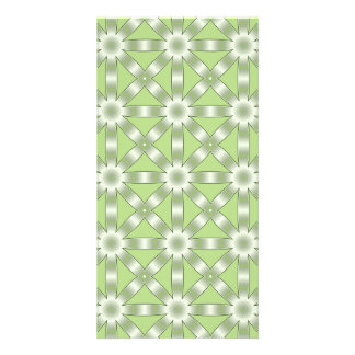 Choose Any Color Repeated Star Pattern Card