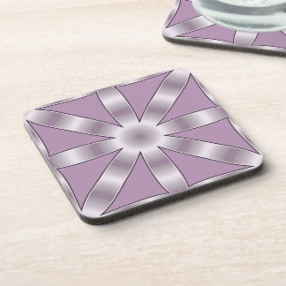 Choose Any Color Repeated Star Pattern Drink Coaster