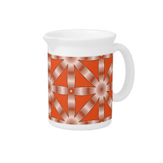 Choose Any Color Repeated Star Pattern Pitcher
