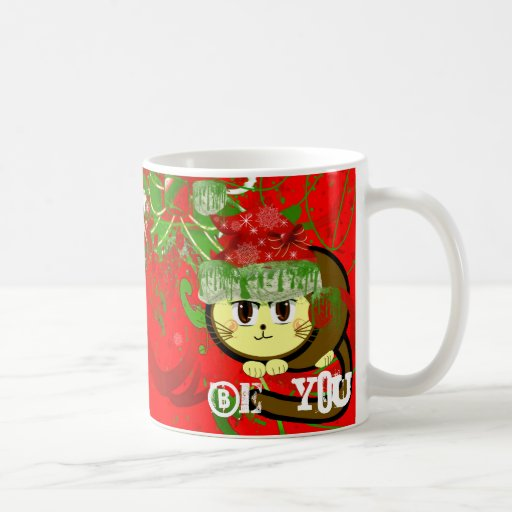 Choose Background Color-Merry Chri... - Customized Coffee Mugs